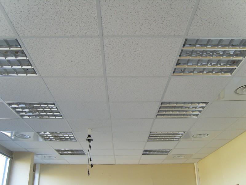 faux plafond dalles minerales