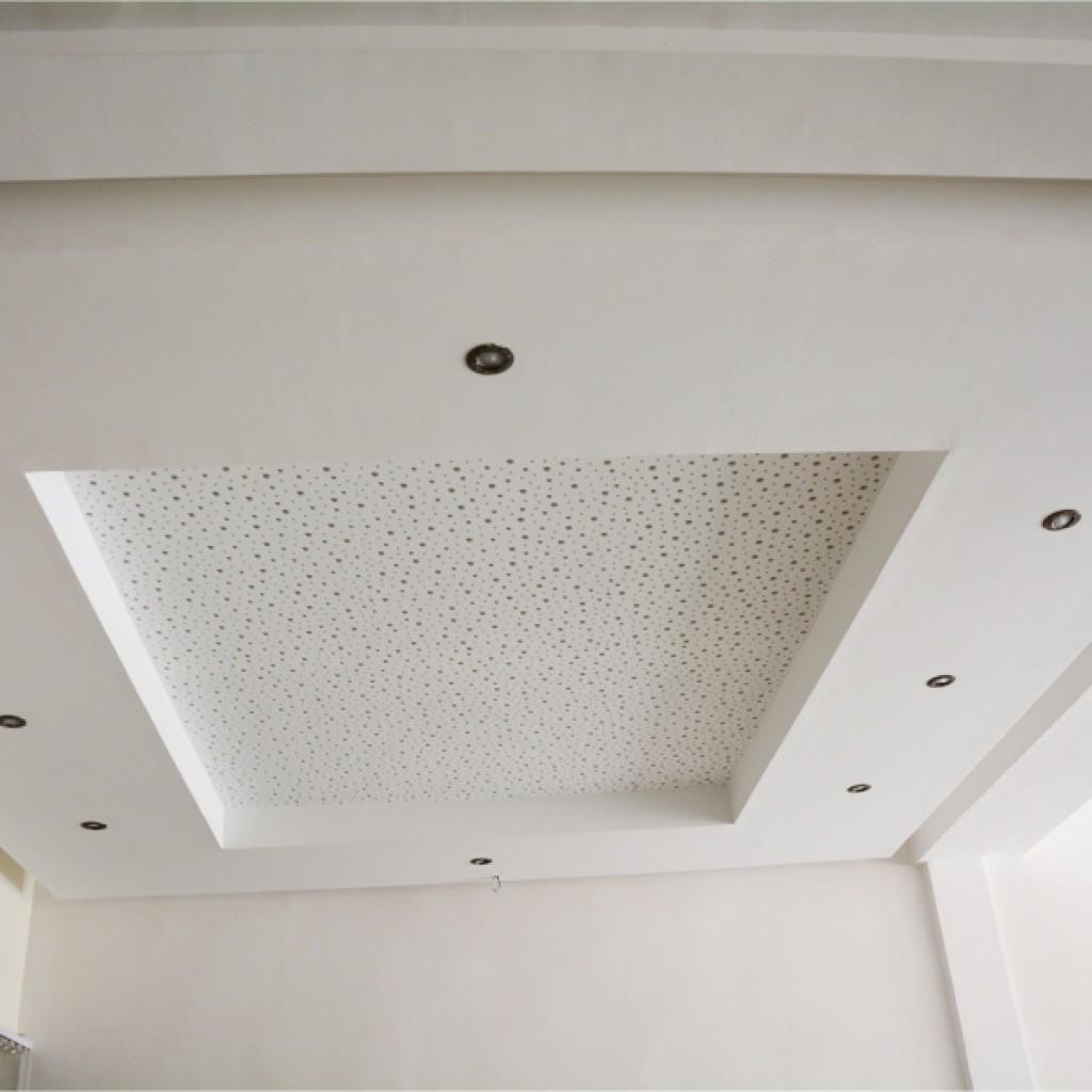 Faux plafond en plaque de platre
